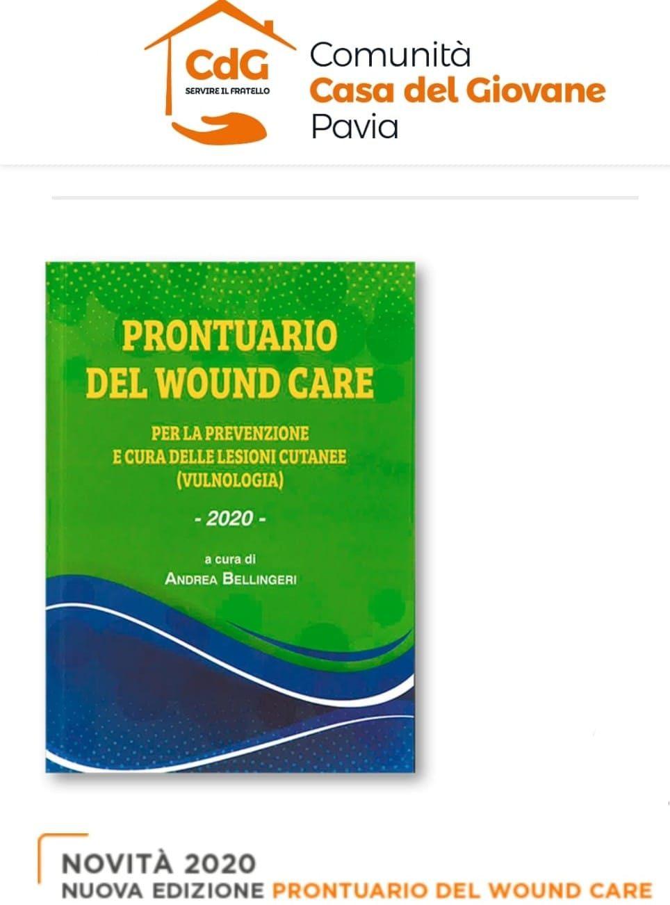 catalogo di medicazioni, bendaggi, materassi ed estratti di linee guida nella vulnologia